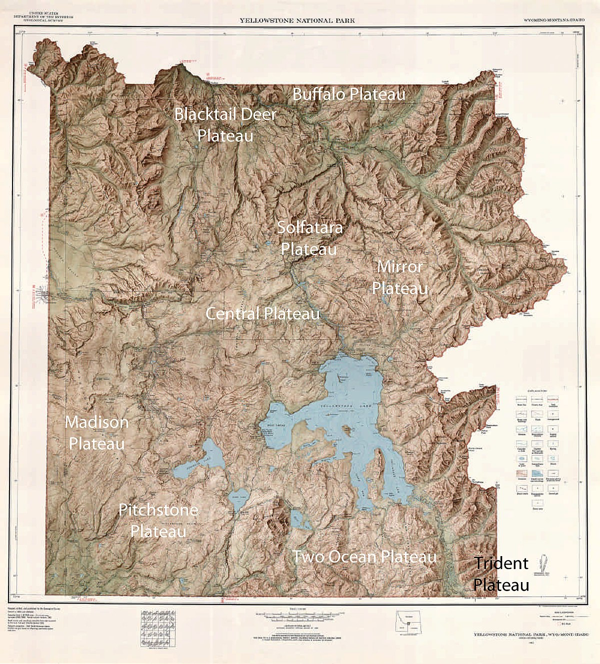 Plateaus of yellowstone national park wikipedia sciox Choice Image