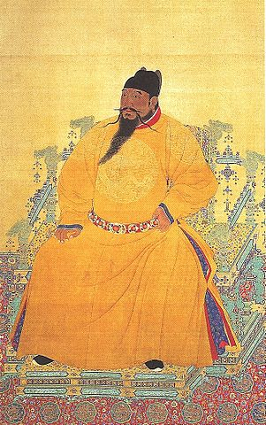 Portrait painting of the Yongle Emperor