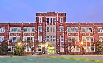 York Community High School - Image: York Community High School