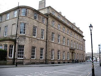 York railway station (1841) - York old station hotel frontage