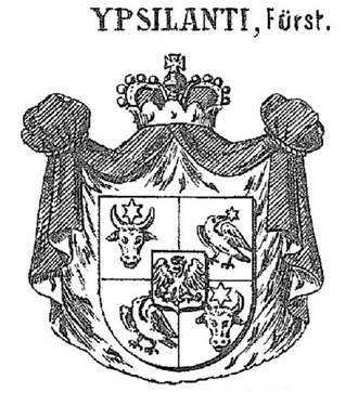 Ypsilantis - Arms of the Princes Ypsilanti