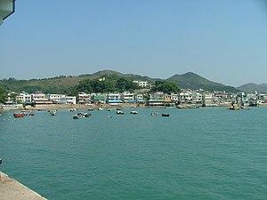 Yung Shue Wan - The village of Yung Shue Wan from the ferry terminal.