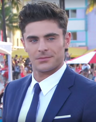 Zac Efron - Efron on the red carpet of the Baywatch in Miami, in May 2017