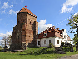 Castle in Liw