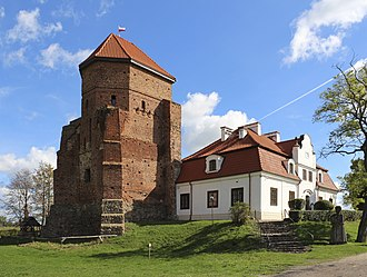 Liw, Poland - Castle in Liw