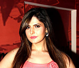 Zareen Khan Trailer launch of Hate Story 3.jpg