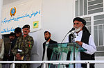 Zharay district governor speaks at opening for new clinic DVIDS489686.jpg