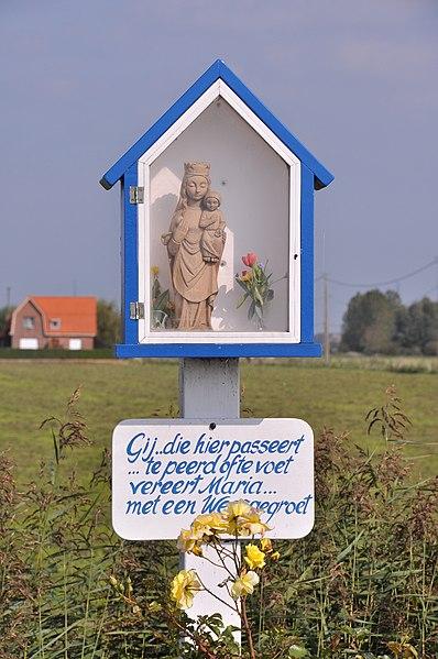 Zuienkerke (Belgium): Herderskapel, Draaiboomstraat