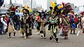 Zulu Parade on Basin Street New Orleans Mardi Gras 2013 by Miguel Discart 02.jpg