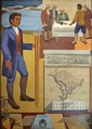"""Benjamin Banneker- Surveyor-Inventor-Astronomer,"" mural by Maxime Seelbinder, at the Recorder of Deeds building, built in 1943. 515 D St., NW, Washington, D.C LCCN2010641717.tif"