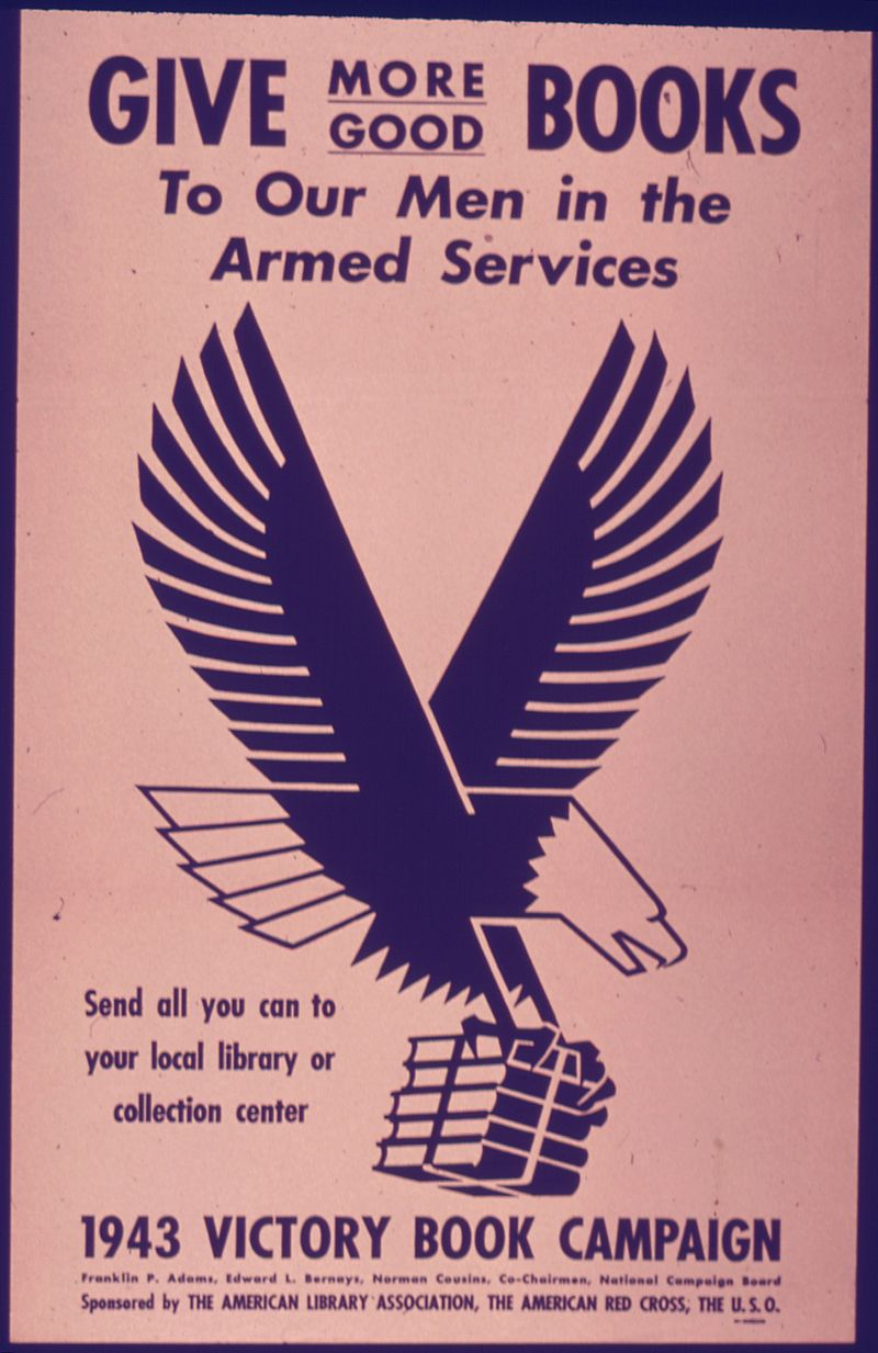 """Give More Good Books to our Men in the Service"" - NARA - 514386.jpg"
