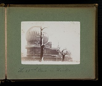 Great refractor - Dome of the Royal Observatory Greenwich 28-inch refractor, circa 1900