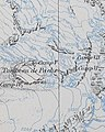 """""""Yalung Glacier"""" """"Camp IV, Camp V, Camp VI, Camp VII"""" from- KANGCHENJUNGA MAP by JACOT-GUILLARMOD, 1914 (cropped).jpg"""