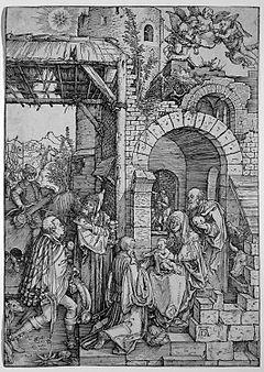 Aanbidding Der Koningen Omgeving Van Jheronimus Bosch New York