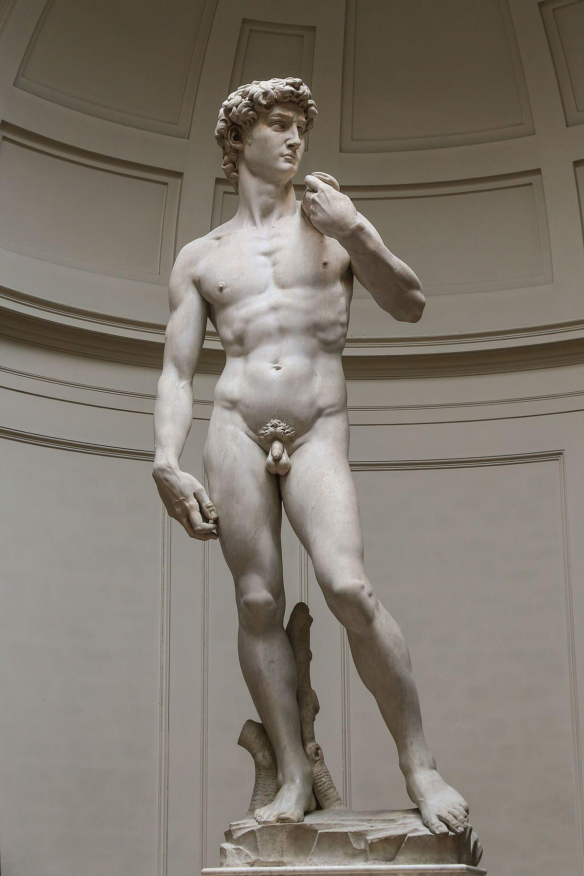 el david Michelangelo Buonarroti - Miguel Ángel