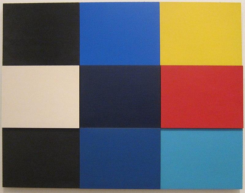 'Méditerannée' by Ellsworth Kelly, Tate Modern.JPG