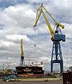 'Stena Primorsk' in dry dock, Belfast - geograph.org.uk - 1393344.jpg