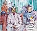 (Albi) Madame, Monsieur et le chien - Toulouse-Lautrec - 1893 MTL.158.jpg