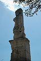Àgora d'Atenes, pilastra amb forma de tritó de l'Odèon d'Agripa.JPG