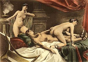 Erotic art by Édouard-Henri Avril.