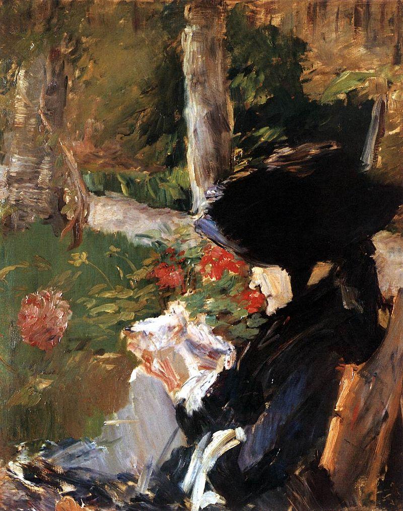 Édouard Manet - La Mère de Manet dans le Jardin de Bellevue.jpg