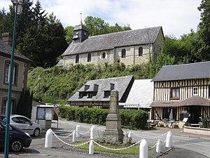 Les Préaux - Image: Église Les Préaux