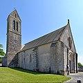 Église Notre-Dame de l'Assomption du Breuil-en-Bessin. Vue nord-ouest.jpg