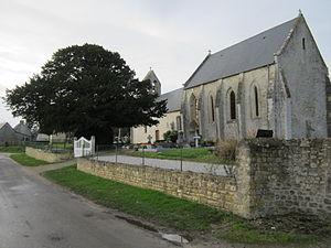 Beuzeville-au-Plain - The church of Saint-Brice