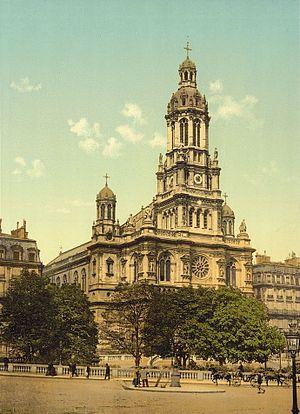 Sainte-Trinité, Paris - Église de la Sainte-Trinité, ca. 1890-1900