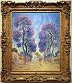 Émile Schuffenecker, la strada sotto gli alberi, 1888 ca.jpg