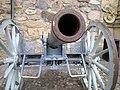 Örebro slott Krupp Bofors 8,4 cm kanon.JPG