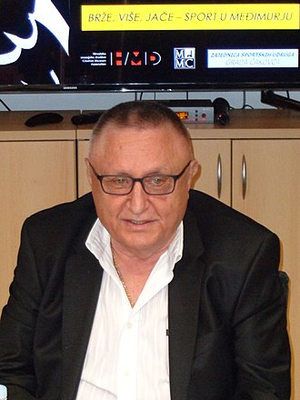 Croatia national handball team - Željko Kavran, the Chairman of the Croatian Handball Federation 1995–2008.