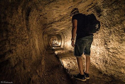 Tunnel des Eupalinos (Pythagorio auf der Insel Samos), Ευπαλίνειο όρυγμα 11