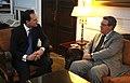 Συνάντηση ΑΝΥΠΕΞ, κ. Δ. Δρούτσα, με Ειδικό Σύμβουλο ΓΓ ΗΕ για το Κυπριακό (4843245894).jpg