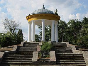 Voznesensk - Garden chapel in Voznesensk