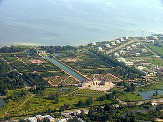 municipal settlement in Petrodvortsovy District of the federal city of St. Petersburg, Russia
