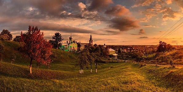 Saint Nicholas Monastery in Mukacheve, Ukraine.