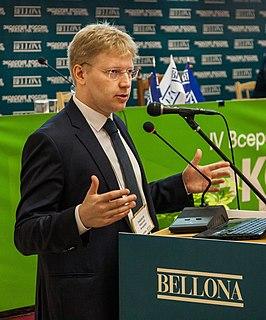 Russian public figure, politician and ecologist