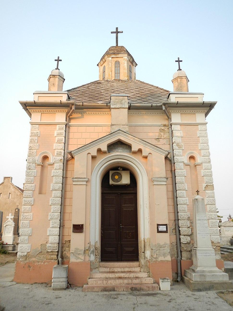 Остојић капела, Суботица