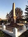 Пам'ятник 230 воїнам-односільчанам загиблим у ВВВ, Обжиле.jpg