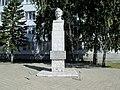 Памятный знак в честь Ф. Э. Дзержинского - проспект Ленина, 30, Барнаул, Алтайский край.jpg