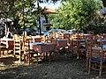 Столики в парке Метаморфози - panoramio.jpg