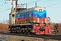 ТЭМ18ДМ-399, Россия, Мордовия, станция Новые Полянки (Trainpix 174010).jpg