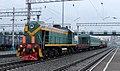ТЭМ2-2917, Россия, Кемеровская область, станция Прокопьевск (Trainpix 33112).jpg