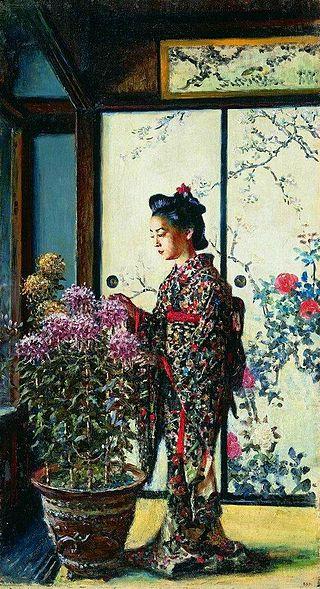 Японка, 1903