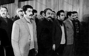 طیفور بطحایی، خسرو گلسرخی، منوچهر سلیمی، کرامت دانشیان، عباس سماکار