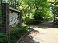 多摩ニュータウンの遊歩道「松が谷散歩道」150428.JPG