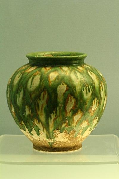 File:彩色釉陶罐.JPG