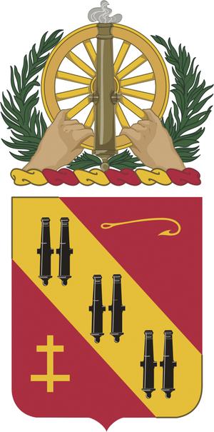 5th Air Defense Artillery Regiment - Image: 005 CAR COA