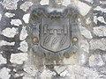 009 Castelldaura (Premià de Dalt), el Mas, escut, c. Can Soberano.jpg